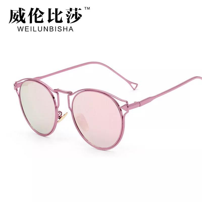 MKTT 0150 Gọng mắt kính mát thời trang hồng