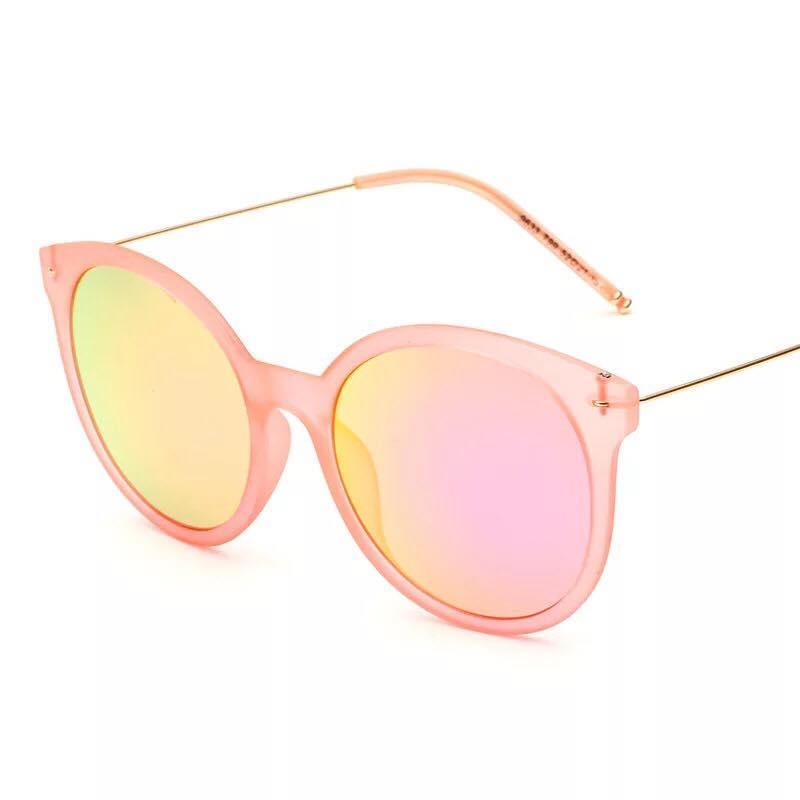 MKTT 0153 Gọng mắt kính mát thời trang nữ hồng