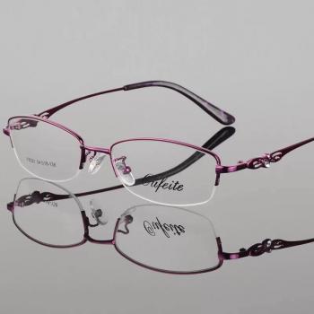 MKC 0149 Gọng mắt kính cận nữ đính hạt sang chảnh