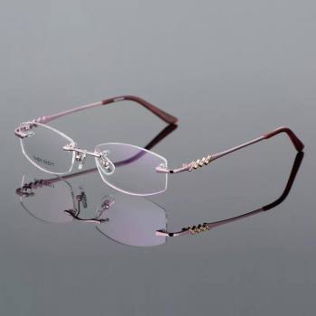 MKC 0175 Gọng mắt kính cận hồng đẹp