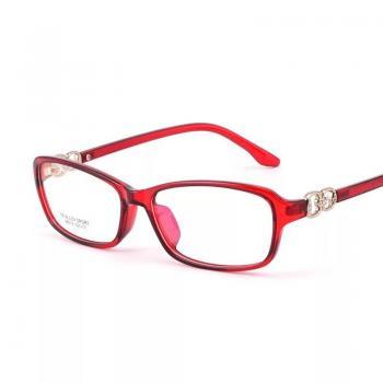 MKC 0180 Gọng mắt kính cận đỏ nữ tính