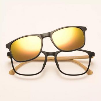 MKTT 0104 Gọng mắt kính mát thời trang 2 in 1