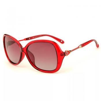MKTT 0111 Gọng mắt kính mát thời trang đỏ cao cấp