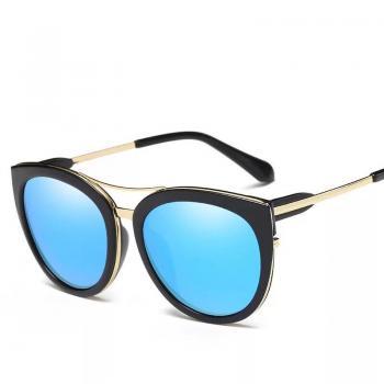 MKTT 061 Mắt kính mát thời trang đẹp vàng đen